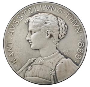 Sondermünze von 1899 aus Silber