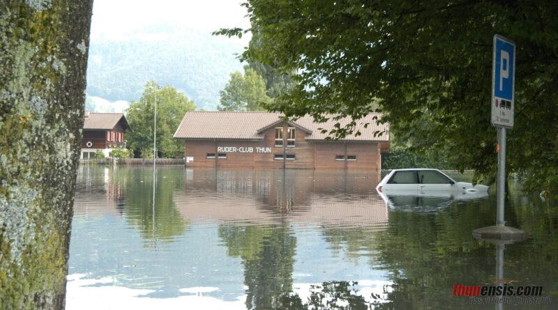 Hochwasser Thun 2005