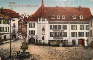 Hotel Krone Rathausplatz Thun