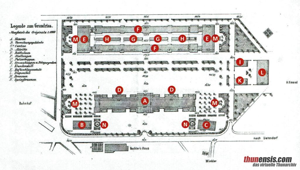 Kaserne Thun 1863