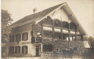 Wirtschaft Zollhaus Lerchenfel Allmendstrasse 1927