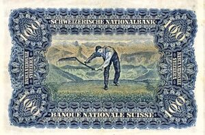 100 Franken Banknote von 1907