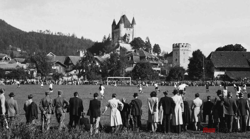 FC Thun FC Lugano Grabengut 1945