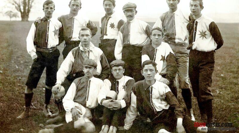 FC Thun im Jahr 1905 nach der Neugründung